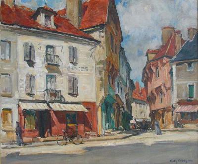Jules Eugene Pages Place de lEglise