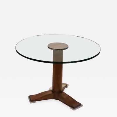 Jules Leleu 1930s Designer Coffee Table Designed by Jules Leleu