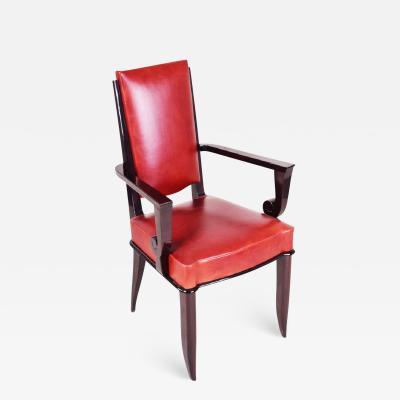 Jules Leleu 20th century Artdeco French Arm chair