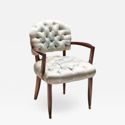 Jules Leleu Art Deco Jules Leleu Chair 1940s