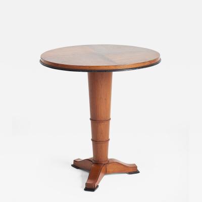 Jules Leleu Art Deco Side Table Att to Jules Leleu