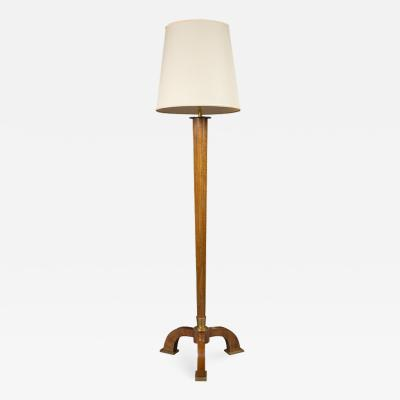 Jules Leleu Art Deco floor lamp by Jules Leleu