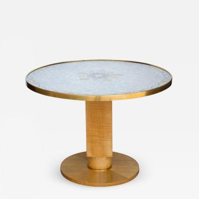 Jules Leleu French Art Deco Side Table