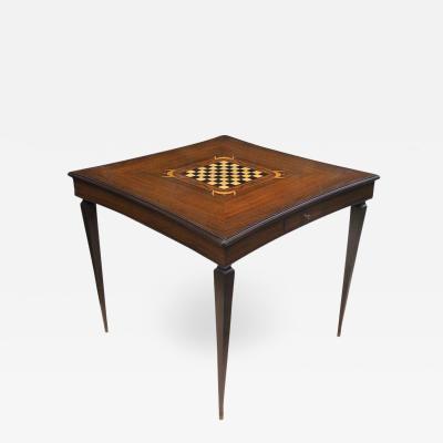 Jules Leleu Jules Leleu Inlaid Card and Games Table