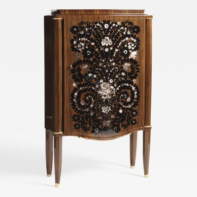 Jules Leleu Meuble feu dArtifices Exceptional Fireworks Cabinet