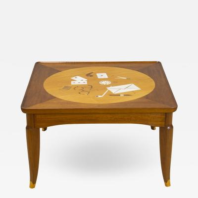 Jules Leleu Tribute to Foujita coffee table