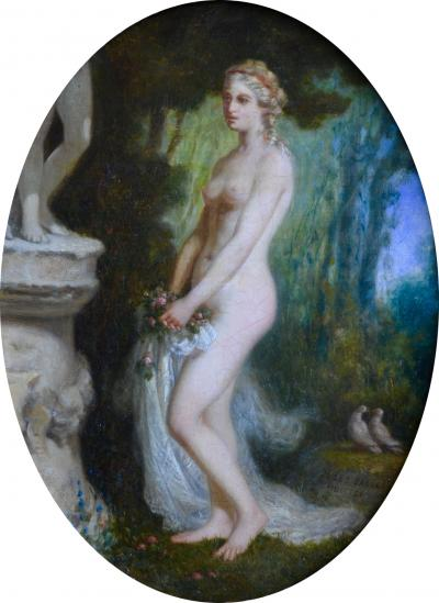 Jules Salles Classical Nude