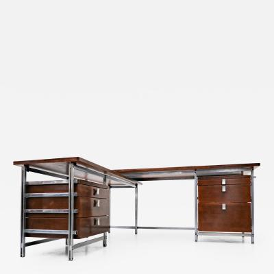 Jules Wabbes Jules Wabbes Desk for Foncolin building Belgium 1957