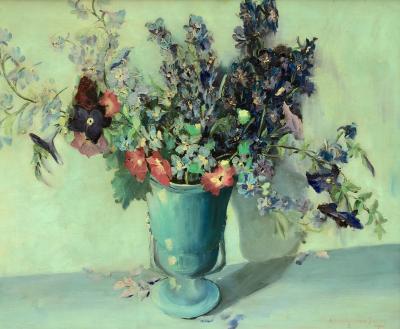 Julia Henshaw Mrs C M Dewey Spring Bouquet
