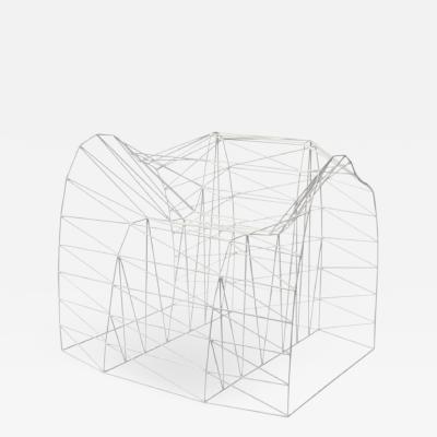 Julian Mayor Organic Loop Chair Wireframe