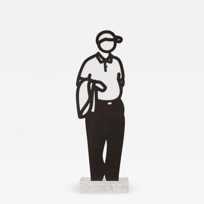 Julian Opie Jacket Melbourne Statuettes