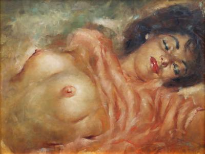 Julian Ritter Reclining Nude