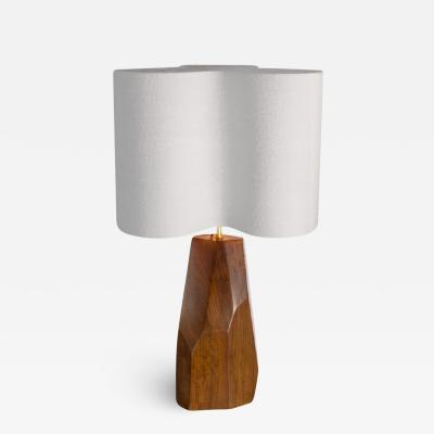 Julien Barrault The Cristal Wood Table Lamp by Julien Barrault
