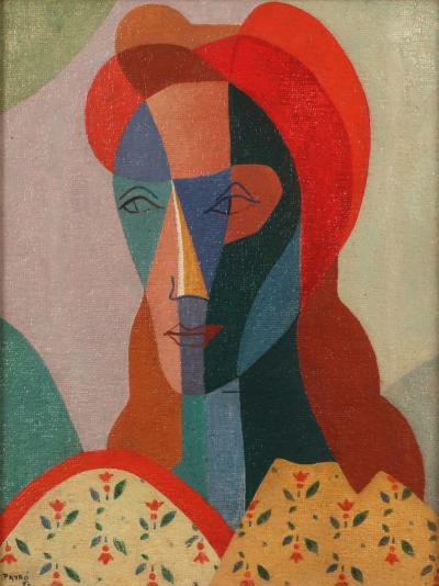 Julio Payro Julio Payro 1899 1971 Portrait of a Woman 1950