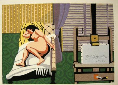 Junichiro Sekino Artists Nude by Junichiro Sekino