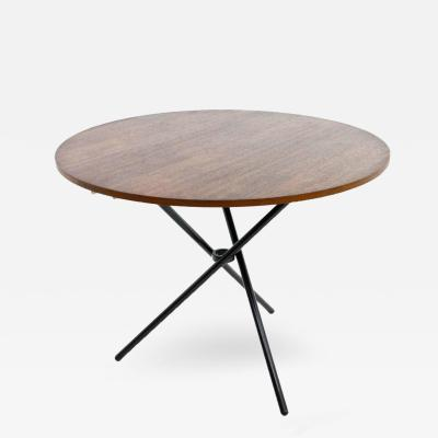 Jurg Bally Rare J rg Bally Adjustable Dining or Sofa Table Switzerland 1951
