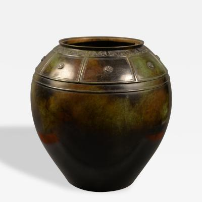 Just Andersen Large Vase by Just Andersen 1884 1943 Denmark 1930s