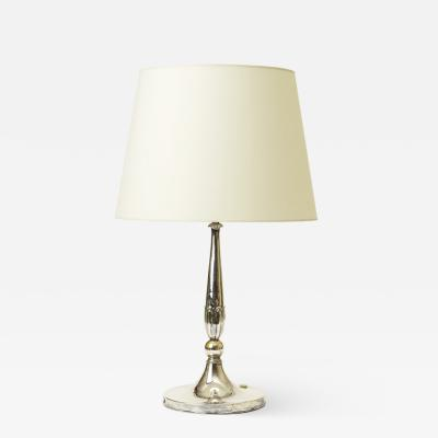 Just Andersen Silvered lamp by Just Andersen for GAB