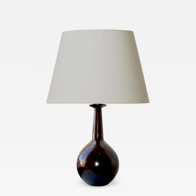 Just Andersen Superlative patinated bronze table lamp by Just Andersen