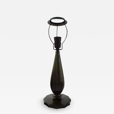 Just Andersen Table lamp in patinated disko metal