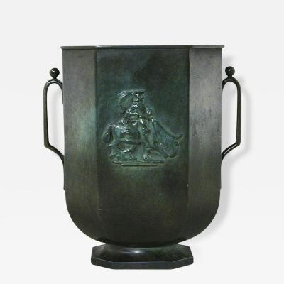Just Andersen Vase by Just Andersen 1884 1943 Sweden GAB ca 1920
