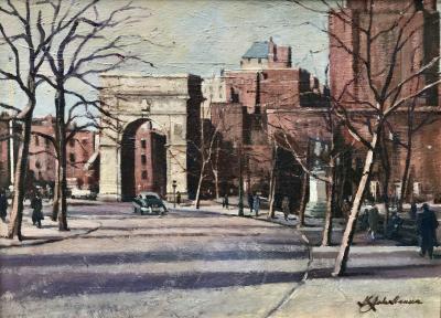 K John Hansen Washington Square New York