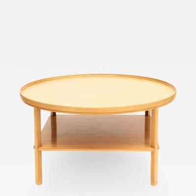Kaare Klint KAARE KLINT COFFEE TABLE IN ELM WOOD