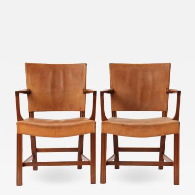 Kaare Klint PAIR OF ARM CHAIRS