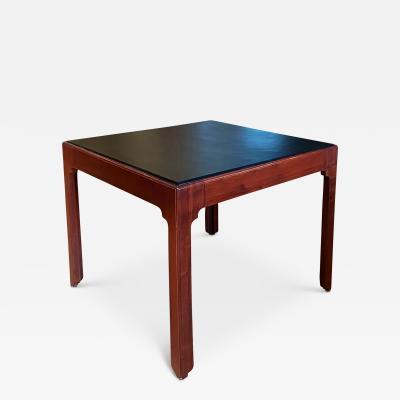 Kaare Klint Rare Square Table Design in Mahogany by Kaare Klint