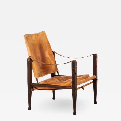 Kaare Klint Safari Chair Produced by Rud Rasmussen
