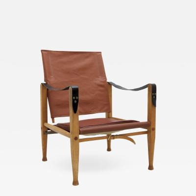 Kaare Klint Safari Chair by Kaare Klint 1969
