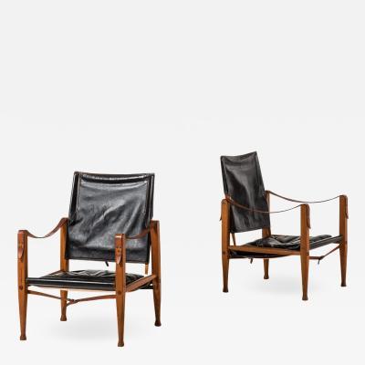 Kaare Klint Safari Chairs Produced by Rud Rasmussen