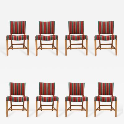 Kaare Klint Set of Eight Kaare Klint Dining Chairs
