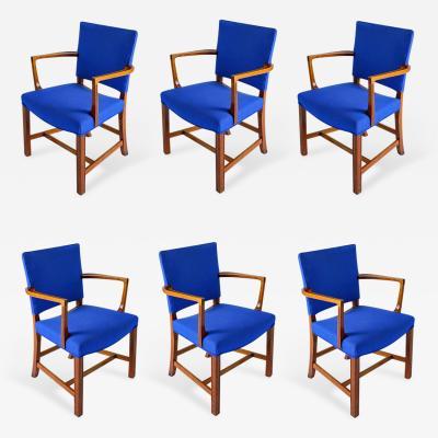 Kaare Klint Set of Six Kaare Klint Armchairs