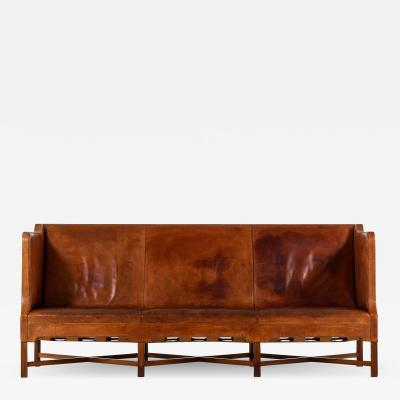 Kaare Klint Sofa Model No 4118 Produced by Rud Rasmussen in Denmark