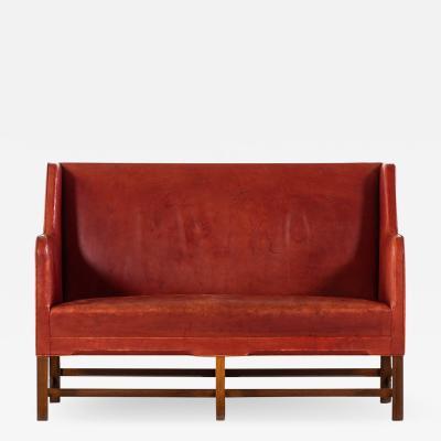 Kaare Klint Sofa Model No 5011 Produced by Rud Rasmussen