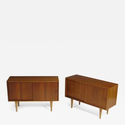 Kai Kristainsen Teak Nightstands Bedside Tables