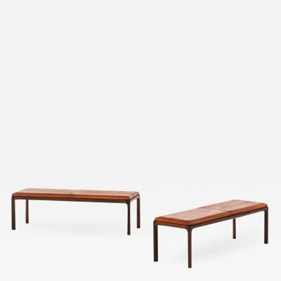 Kai Kristiansen Benches SIde Tables Produced by Aksel Kjersgaard