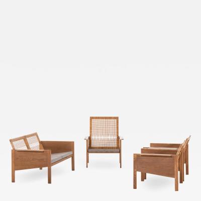Kai Kristiansen Easy Chairs Model 150 Produced by Christian Jensen M belsnedkeri