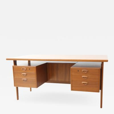 Kai Kristiansen Executive Teak Desk Model FM 60