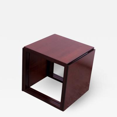 Kai Kristiansen Kai Kristiansen Rosewood Cube of Three Interlocking Nesting Tables