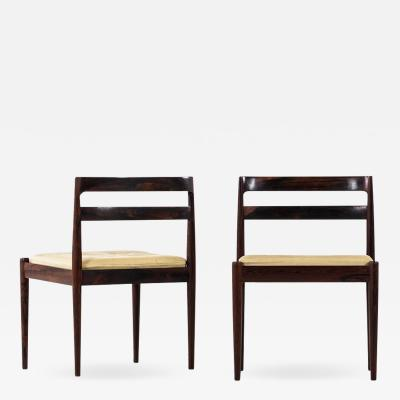 Kai Kristiansen Kai Kristiansen Side Chairs