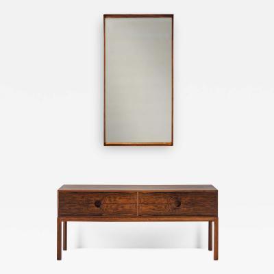 Kai Kristiansen Kai Kristiansen Sideboard and Mirror for Aksel Kjersgaard Denmark 1960s