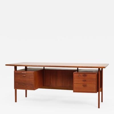 Kai Kristiansen Kai Kristiansen Teak Office Table Feldballes M belfabrik 60s