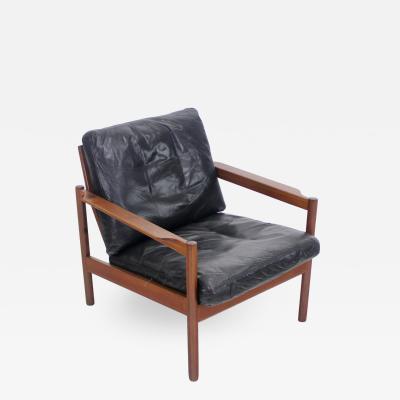 Kai Kristiansen Scandinavian Modern Teak Lounge Chair Designed by Kai Kristiansen