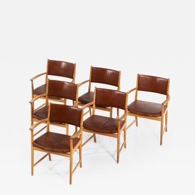 Kai Lyngfeldt Larsen Armchairs Produced by S ren Willadsen M belfabrik