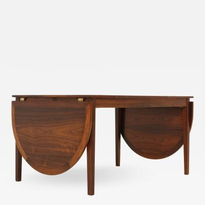 Kai Winding Exceptional Rio Rosewood Dining Table by Kai Winding