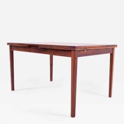 Kaj Winding Midcentury Rosewood Dining Table by Kaj Winding for Slagelse