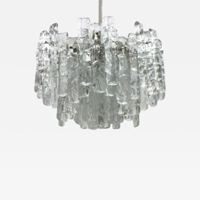 Kalmar Austria Glass Chandelier 1960s