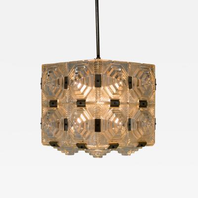 Kamenicky Senov Glass Pendant by Kamenicky Senov 1960s Up to Three Items